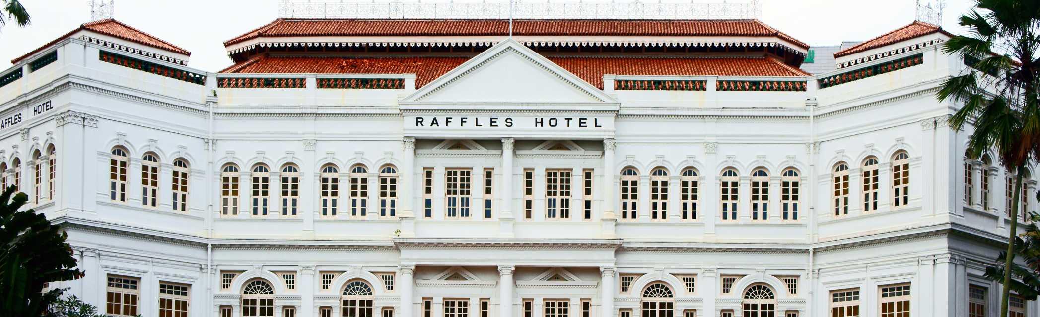sonnenklar.TV Reisebüro | Raffels Hotel Singapur